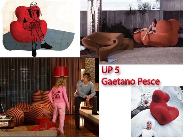 Кресло Up 5 в кино | ViO-design