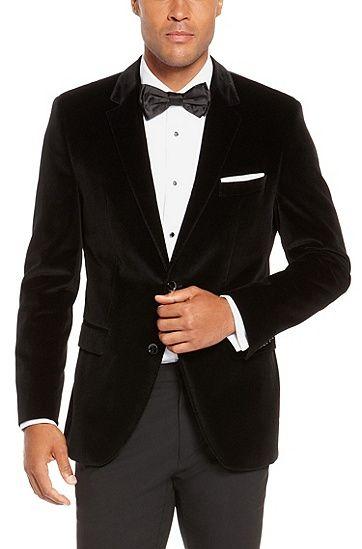 varvatos star usa black velvet sport coat-- so chuck bass, so sexy ...