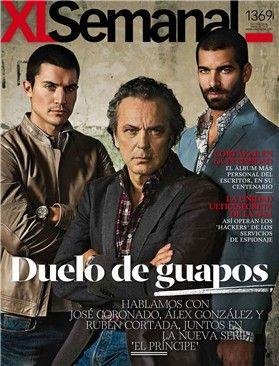 Rubén Cortada álex González Y José Coronado Protagonizan El Duelo De Guapos De Xl Semanal El Principe Serie Princesas Que Guapo
