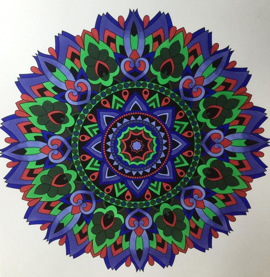 Colorit Mandalas To Color Volume 1 Colorist Josie Dark Adultcoloring Coloringforadults Manda Mandala Coloring Pages Mandala Coloring Mandala Coloring Books