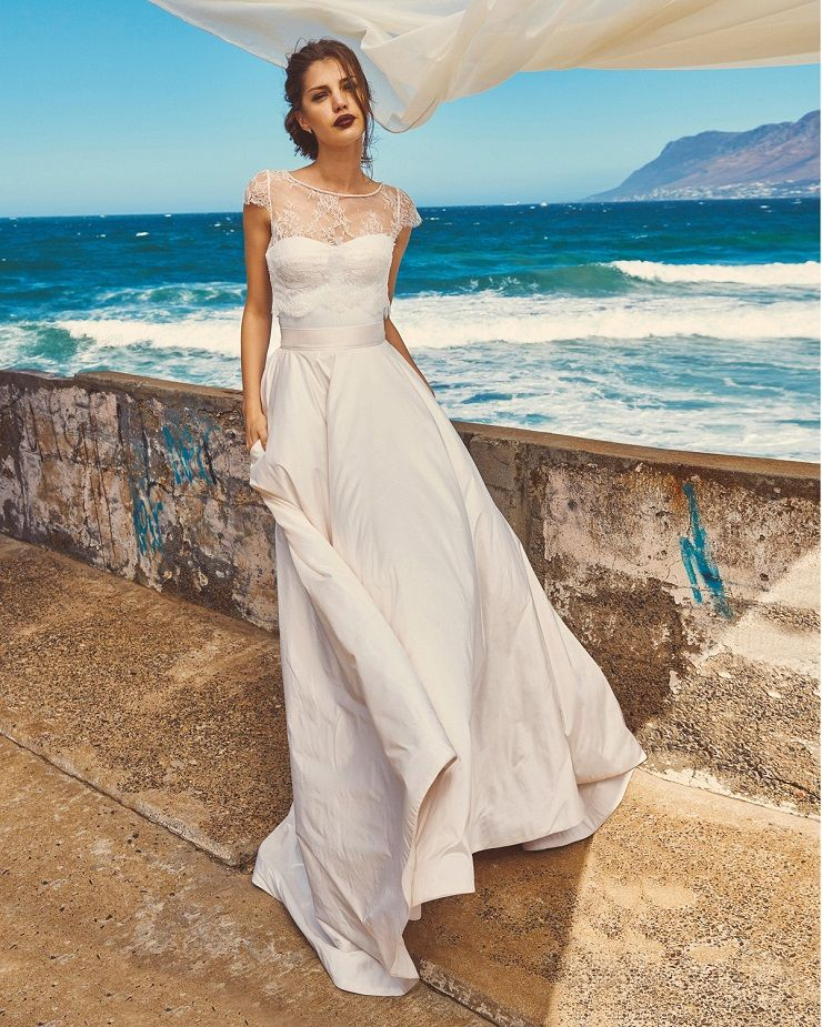 "Elbeth Gillis 2017 Wedding Dress ""Milk and Honey"" Bridal seperates collection : Chloe+Scarlet+Michelle 