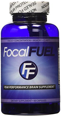 FocalFuel  The BEST Brain Supplement  Powerful Brain Formula For Poor Memory  Brain Fog  Made With Proven Natural Ingredients  Considered To Be The 1 Most Potent  Effective Focus  Memory Supplement Available  100 Satisfaction GUARANTEED -- Visit the affiliate link Amazon.com on image for more details.