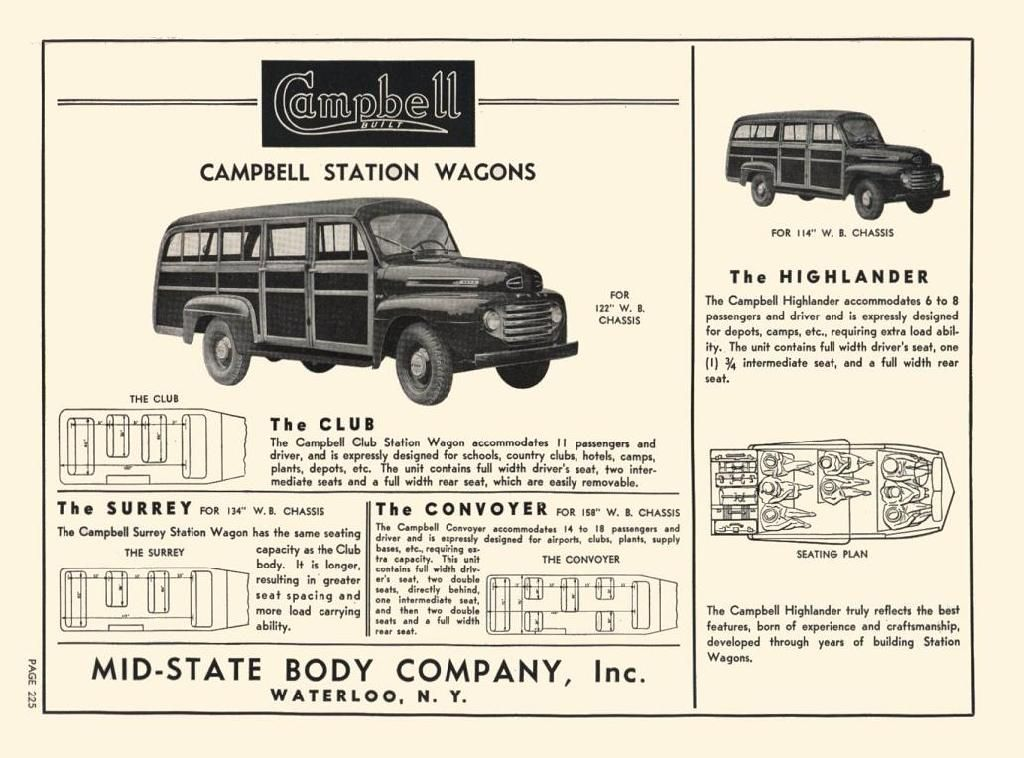 ford trucks used by mid state body co to make station wagons ford trucks woodies station wagon pinterest