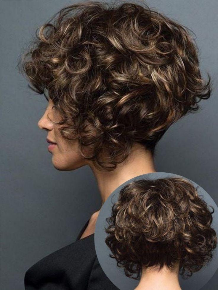 Photo of # peinados grises rizados # corte de pelo rizado Kent # peinados rizados updos prom #curly r …