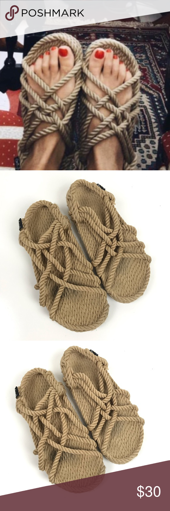 2252d237f83a2f Nomadic state of mind rope sandals nomadic state of mind rope png 580x1740 Rope  sandals jc