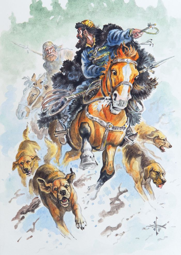картинки для декупажа лошади и охота помощью таких сандриков