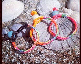 Kids Neon Paracord Bracelet