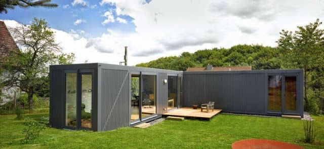 Project Name Containerlove Shipping Container Home In Germany Container House Plans Shipping Container House Plans Container House