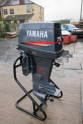 Yamaha 2008 Model Elec Start Power Trim Tilt Boat Engines Boats And Outboards Engines For Sale Boat Engine Outboard