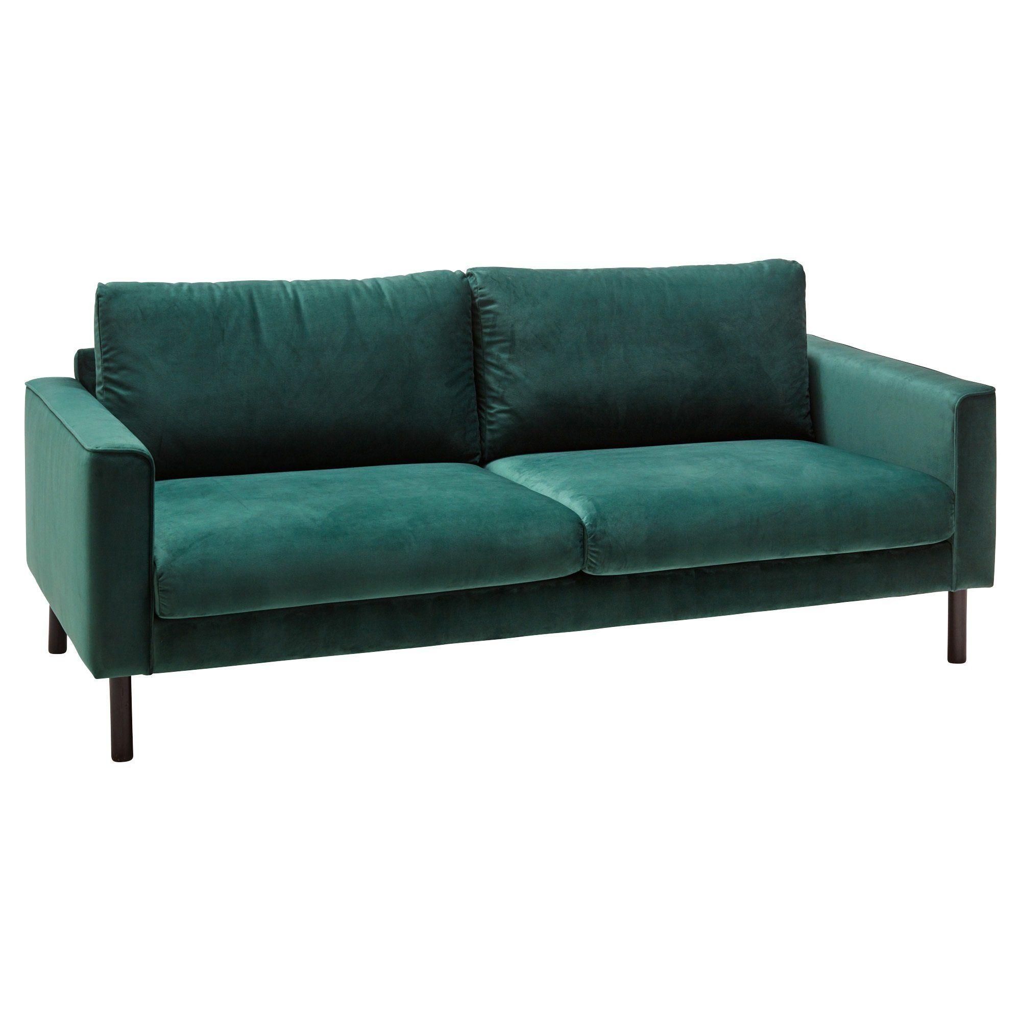 Sofa Bed Kwantum.Bank Visby Velours Groen Kopen Bestel Online Of Kom Naar Een Van