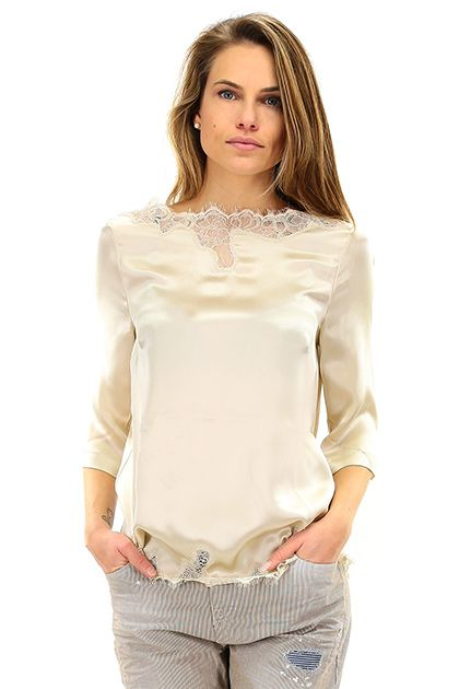 comprare popolare f68f9 b66f1 Camicia Champignon Twin SET | I loved | Clothes, Fashion, Women