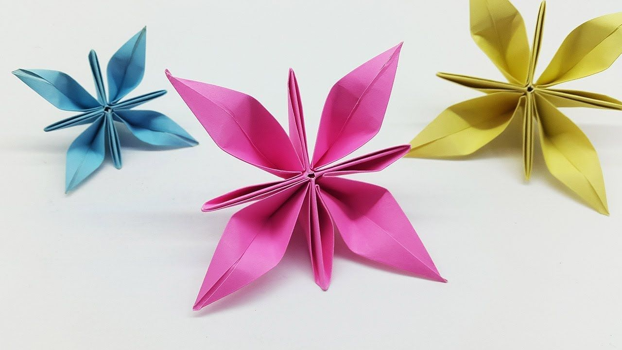 Easy Paper Flowers Making Ideas Diy Flower Paper Crafts Paper