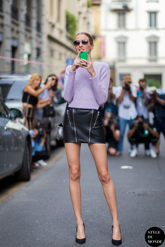#New on #STYLEDUMONDE  http://www.styledumonde.com/  with @dariastrokous #DariaStrokous at #milan #fashionweek #mfw #ss15 #outfit #ootd #streetstyle #streetfashion #streetchic #snobshots #streetlook #fashion #mode #style