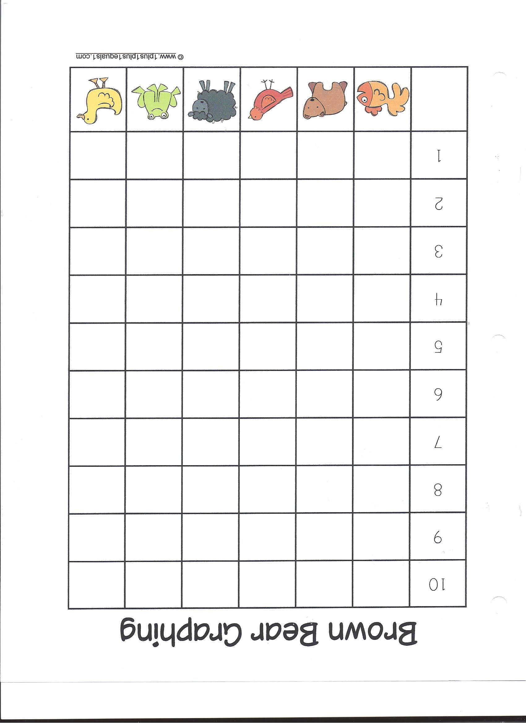Brown Bear Counting Graph Eric Carle