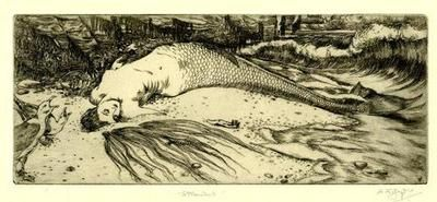 Stranded  Print by Alice Kirkeley Goyder