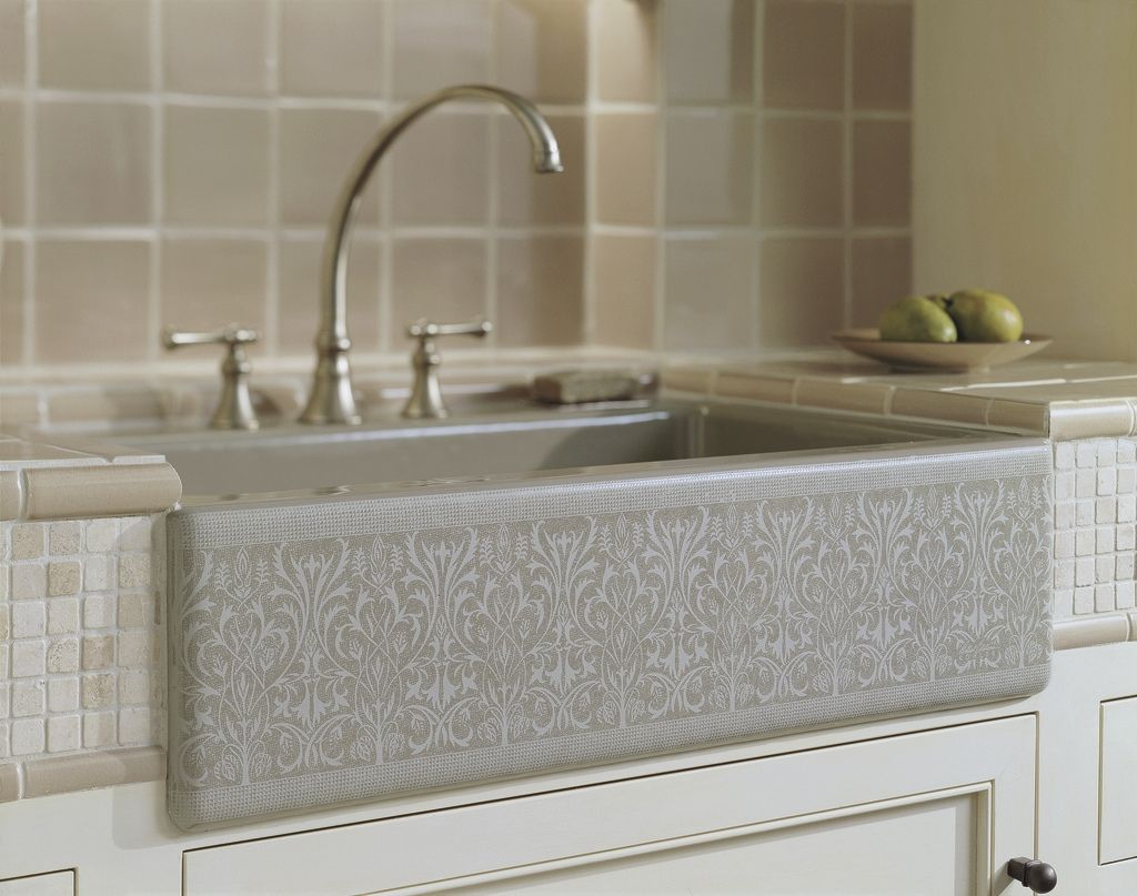 Cupboards Kitchen And Bath: Apron Sink Trends   Kohler