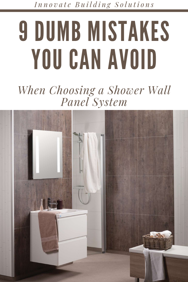 9 Dumb Mistakes You can Avoid When Choosing a Shower Wall ...