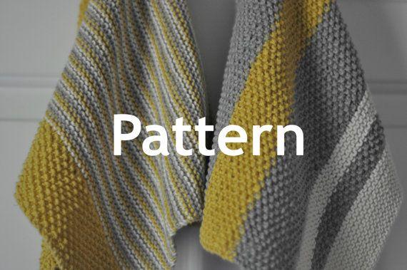Kitchen Dish Towel Knitting Patterns Bistro And Cucina Knit
