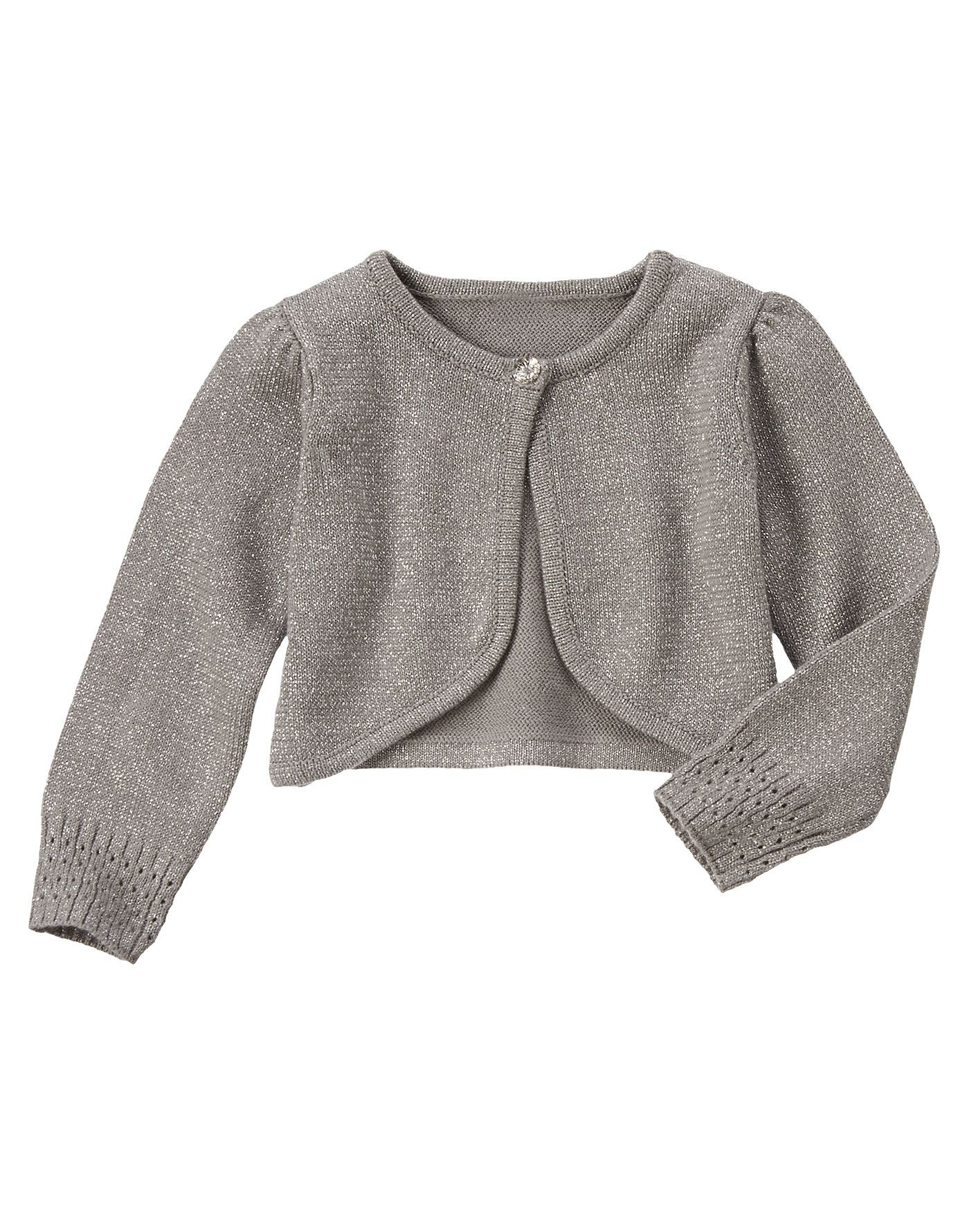 Sparkle Shrug Sweater at Gymboree #Holiday | Rosie Clothes ...