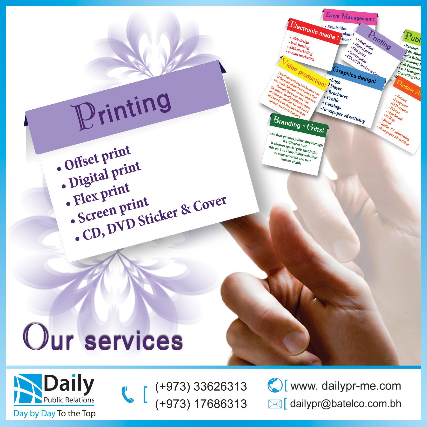 The Design Quality Appears In The Printing Quality With Its Different Types And Shapes Therefore We In Daily Public Re Print Gifts Printing Services Prints