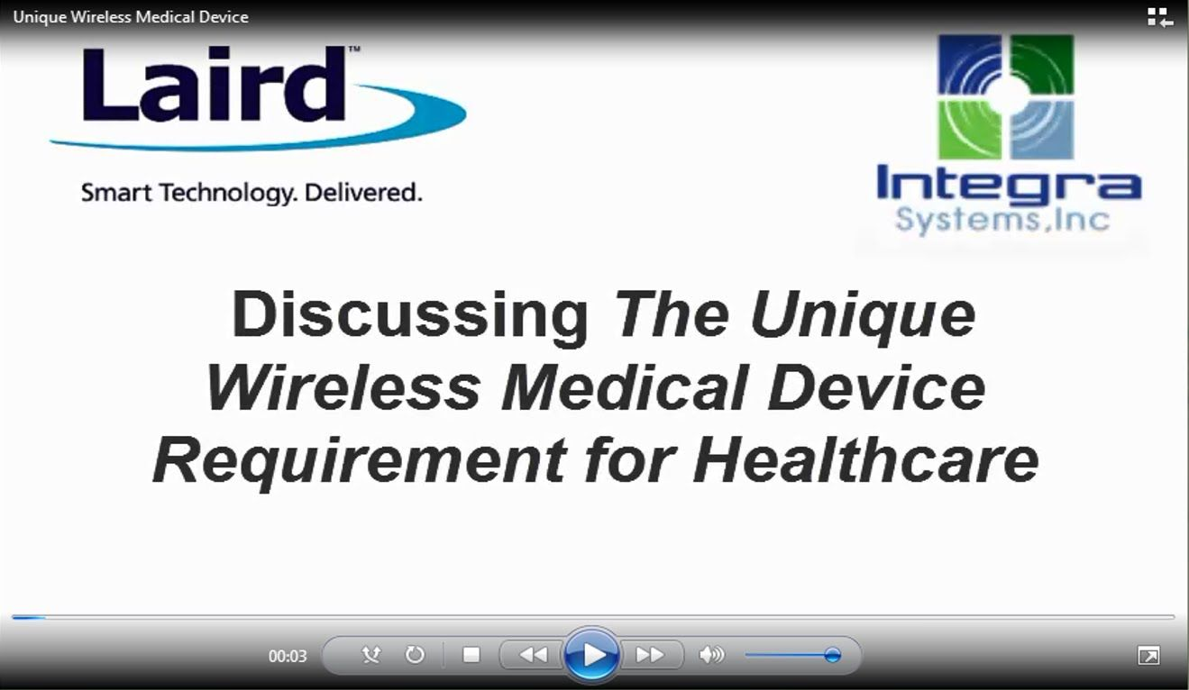 Discussing The Unique Wireless Medical Device Requirement For Healthcare Medical Medical Device Wireless