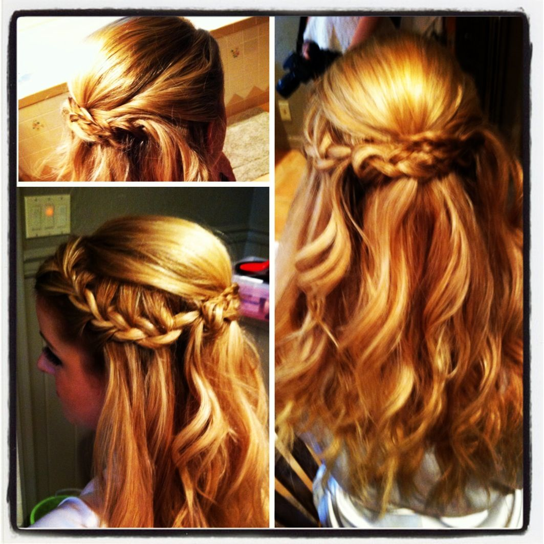 Wedding Hairstyles For Junior Bridesmaids : Idea for junior bridesmaid hairstyles chic