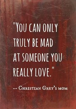 Christian Grey´s mom