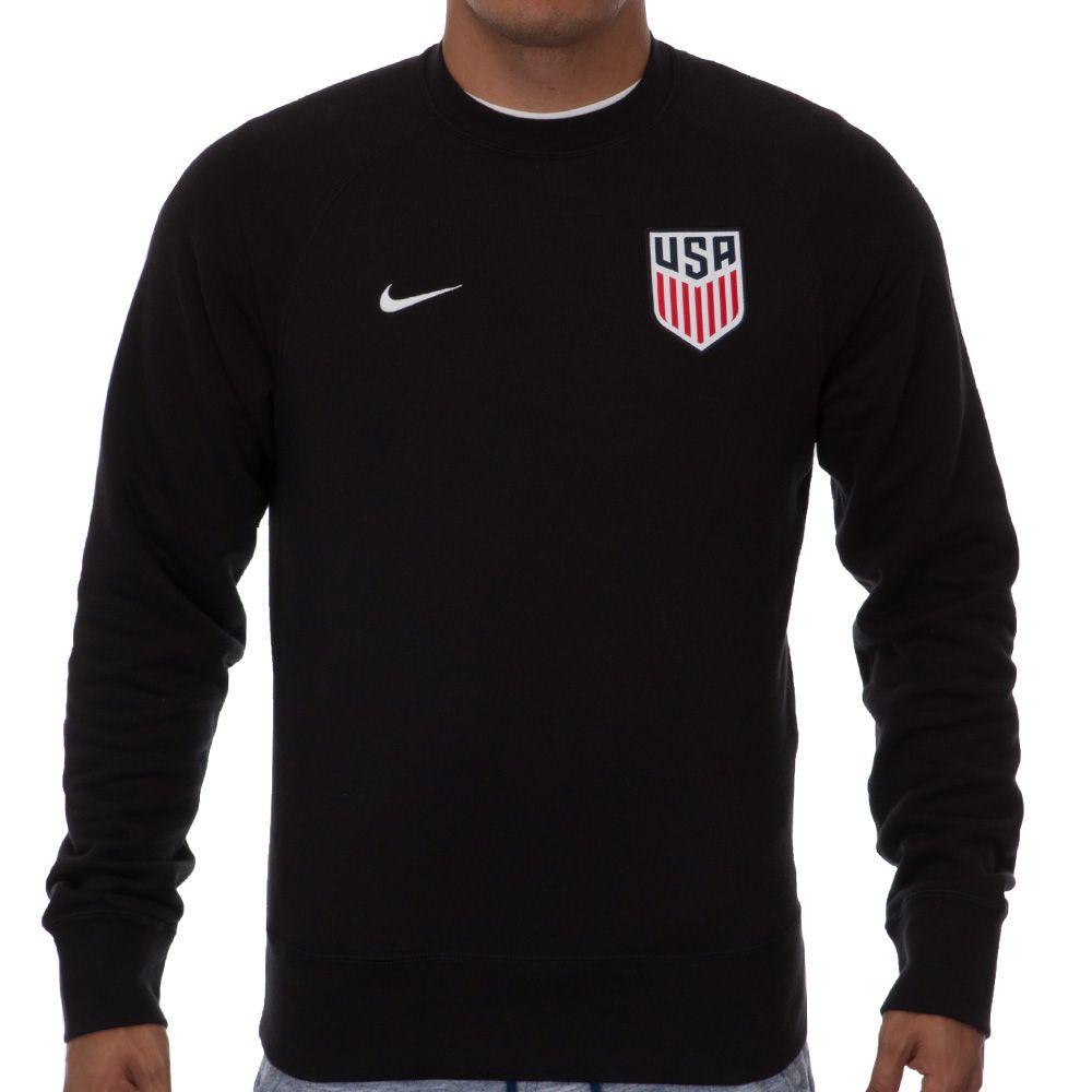 Men's Nike USA AW77 Authentic Crew Black | Nike men, Nike