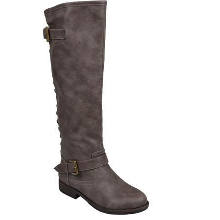 Brinley Co. Women's Studded Wide Calf Boots