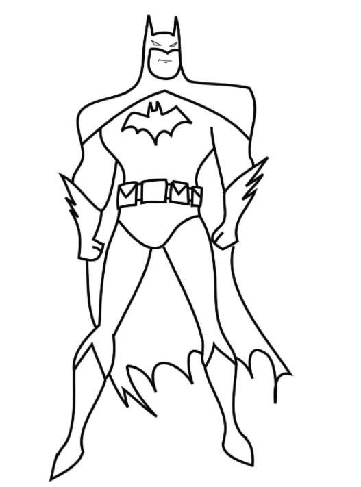 Batman Para Colorir Imagens De Desenhos Animados Para Desenhar