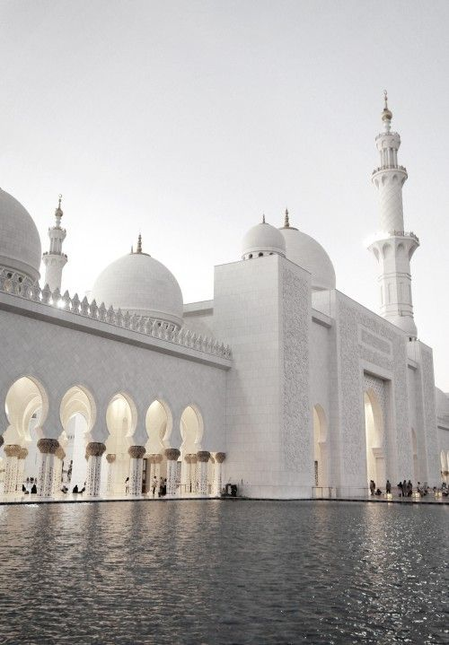 Islamic Art And Quotes The Beautiful Mosque Of Sheikh Zayed Abu