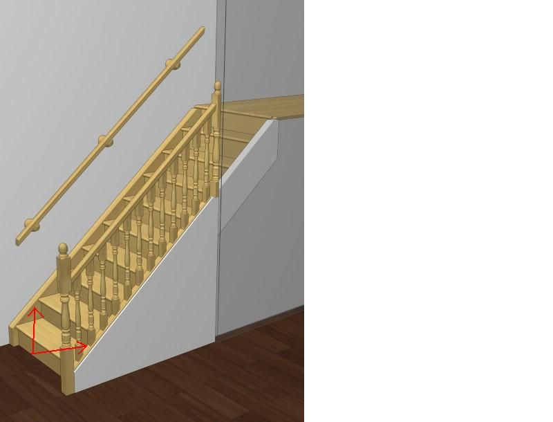 Cutting Out Stairway Wall To Put Balusters In   Got Questions? Get Answers!