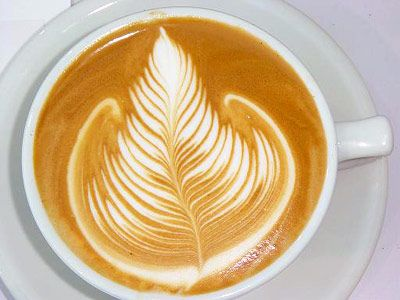 Coffee Art, Leaf