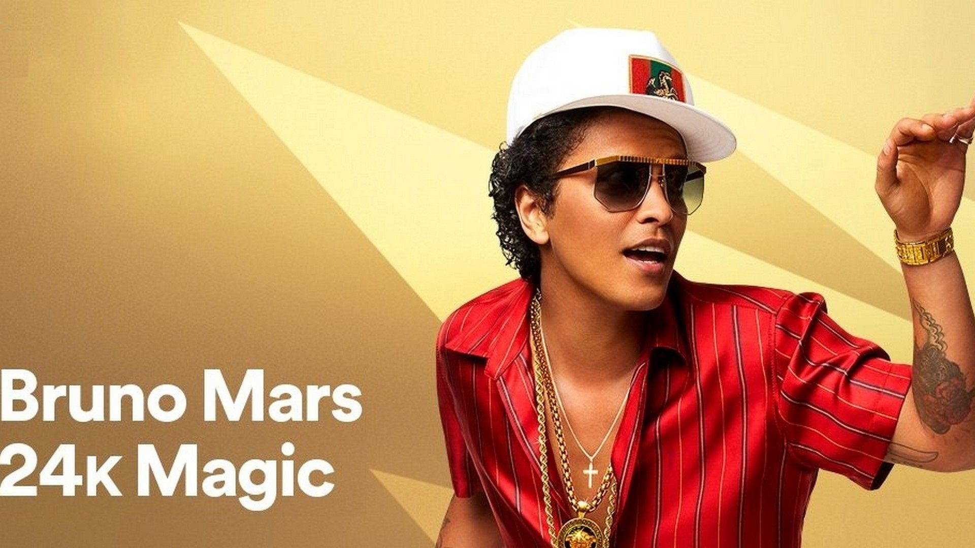 Bruno Mars 24k Magic Wallpaper HD