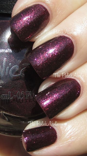 Nicole by OPI's Shoot For The Maroon