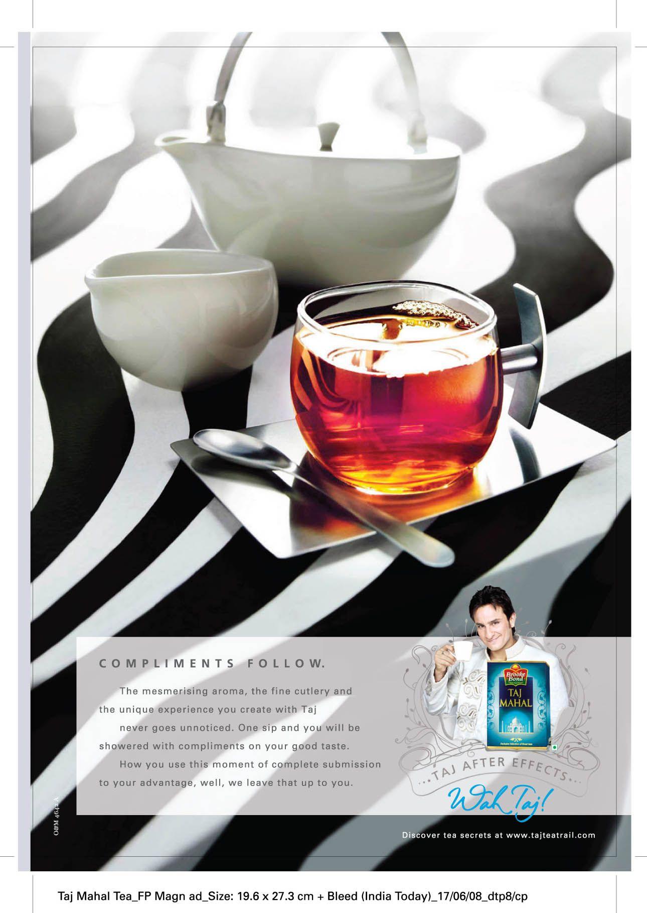 Taj Mahal Tea India Food Recipes And Desserts Alcoholic