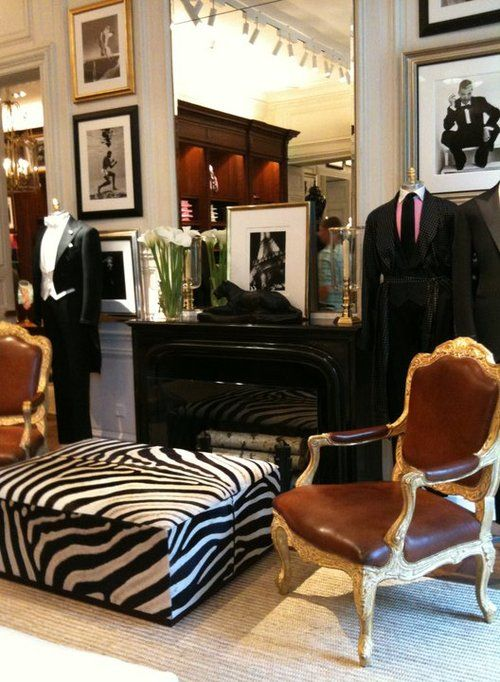 I Like The Zebra Ottoman The Dark Woods And The Leather On The Chairs Colonial Living Room Family Room Colors Zebra Chair #zebra #chairs #for #living #room