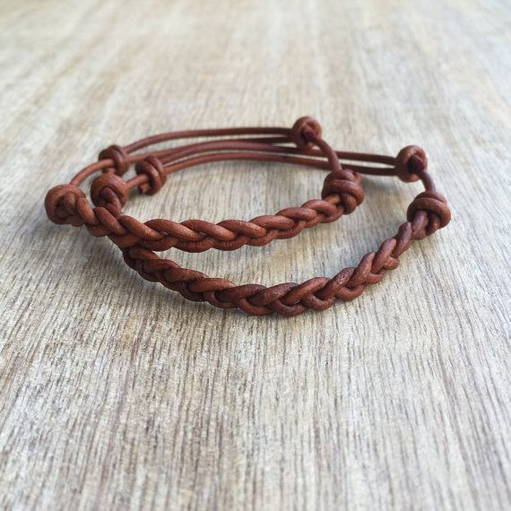 S Bracelet Leather Bracelets His And Her Jewelry