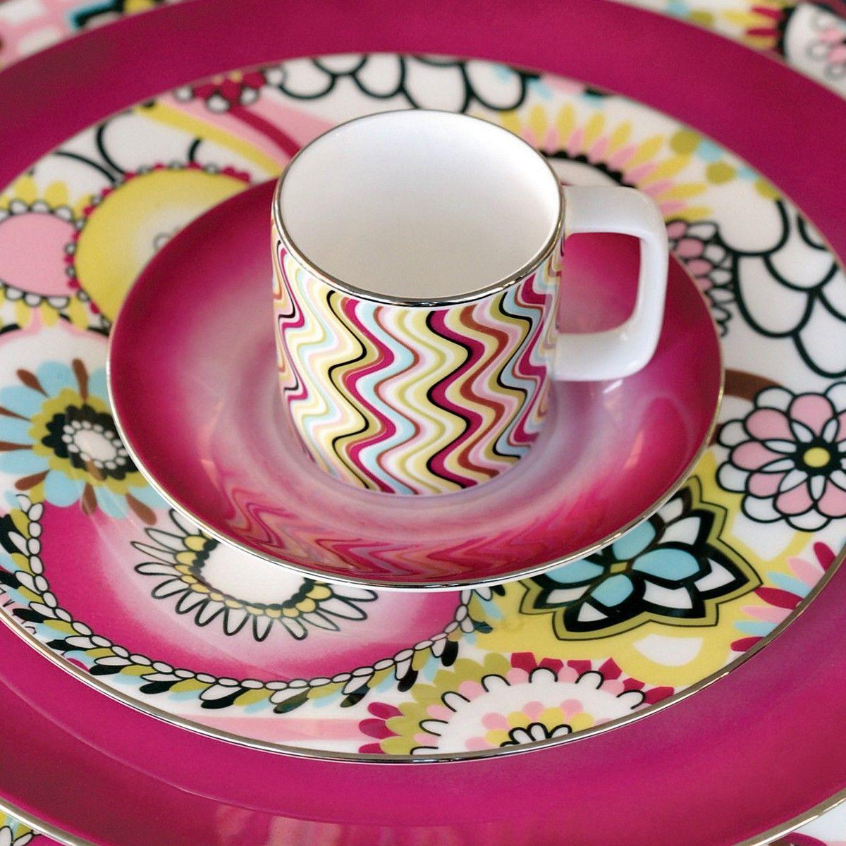 Missoni \ Margherita\  bone china at Bloomingdale\u0027s & O Missoni you\u0027ve done it again...swoon...Missoni \