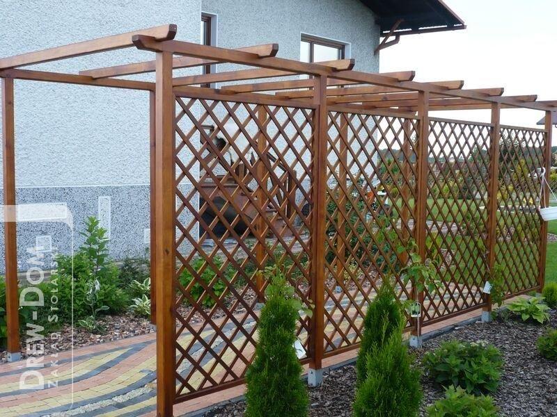 Dach Für Pergola rankhilfe für kletterpflanzen grüne wand hoch zum dach