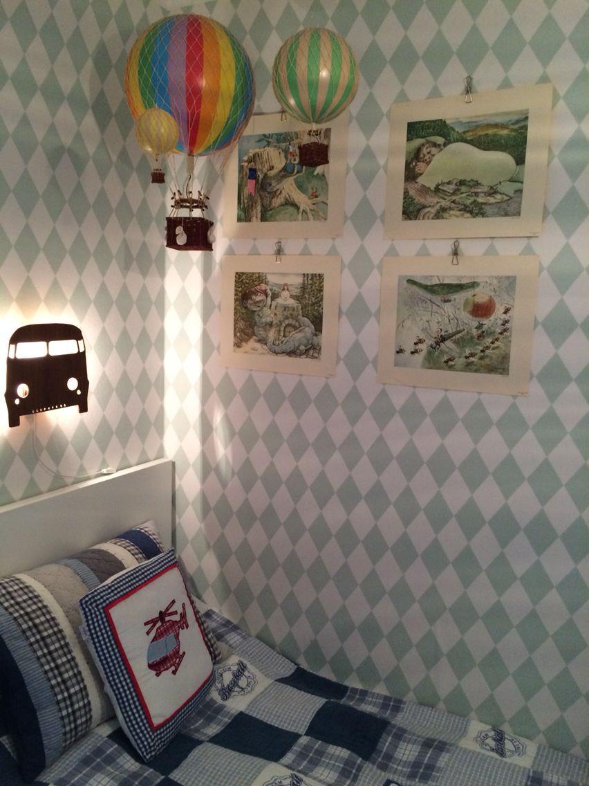 Barnrum med luftballonger