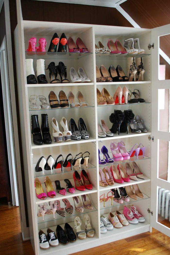 d couvrir les meubles chaussures en 50 photos meuble chaussure ikea chaussure ikea et. Black Bedroom Furniture Sets. Home Design Ideas