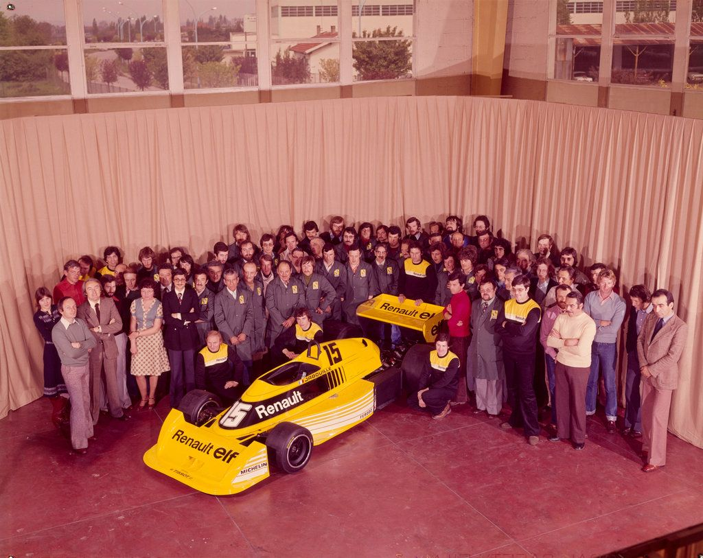 Viry chatillon 1976 birth of the renault rs01 turbo for Garage renault viry chatillon