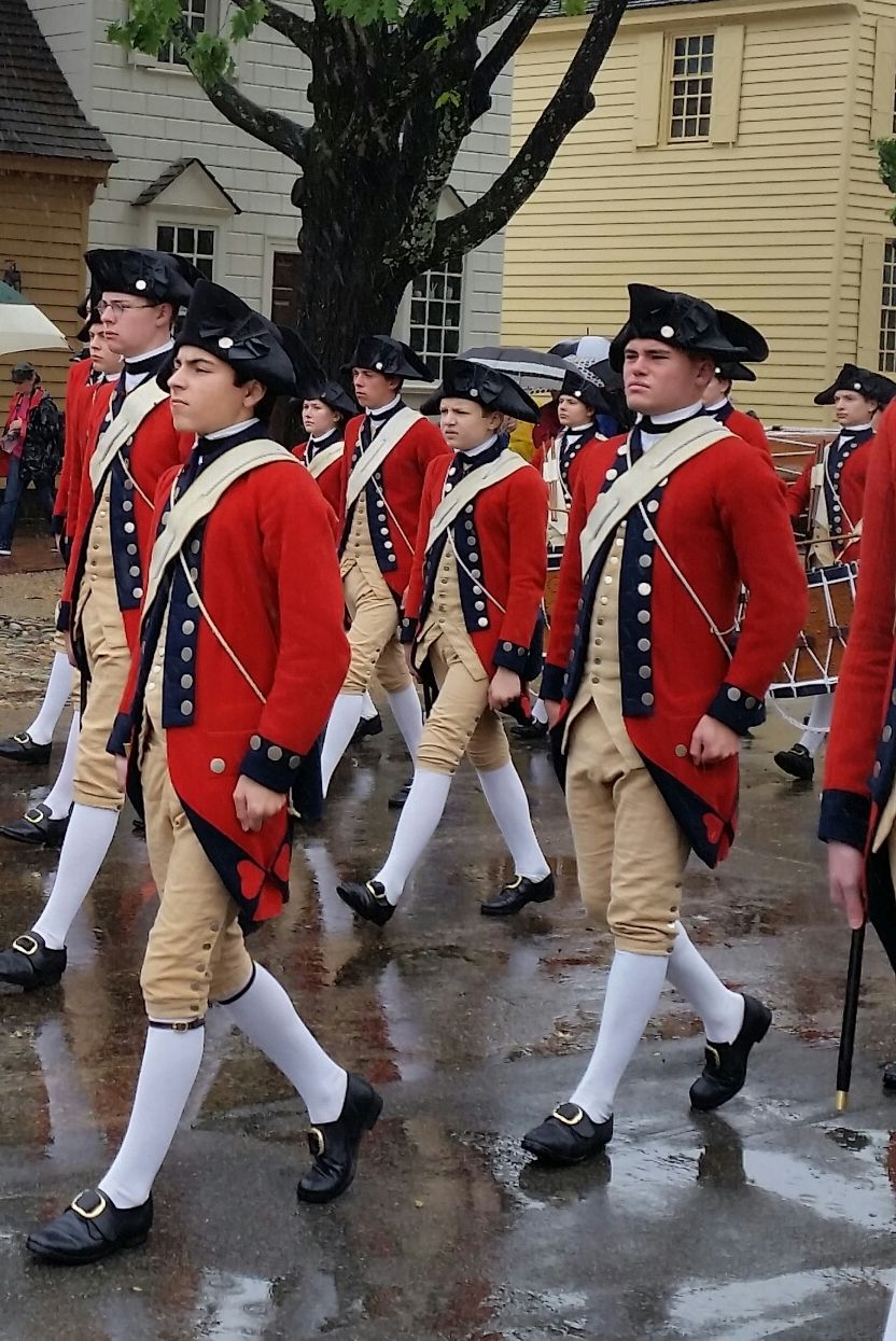 The British soldiers in Williamsburg theloyalistsdaughter