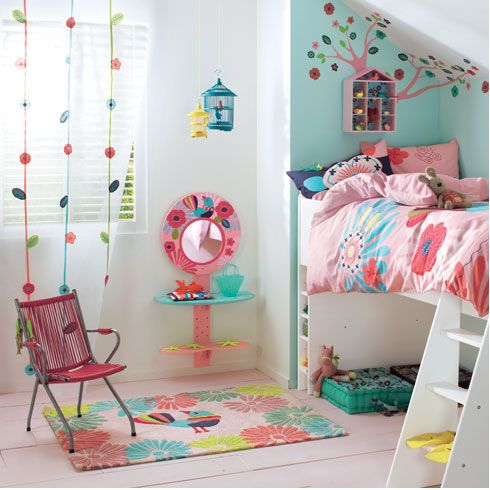 Love this girls room decor! Girls room ideas Pinterest