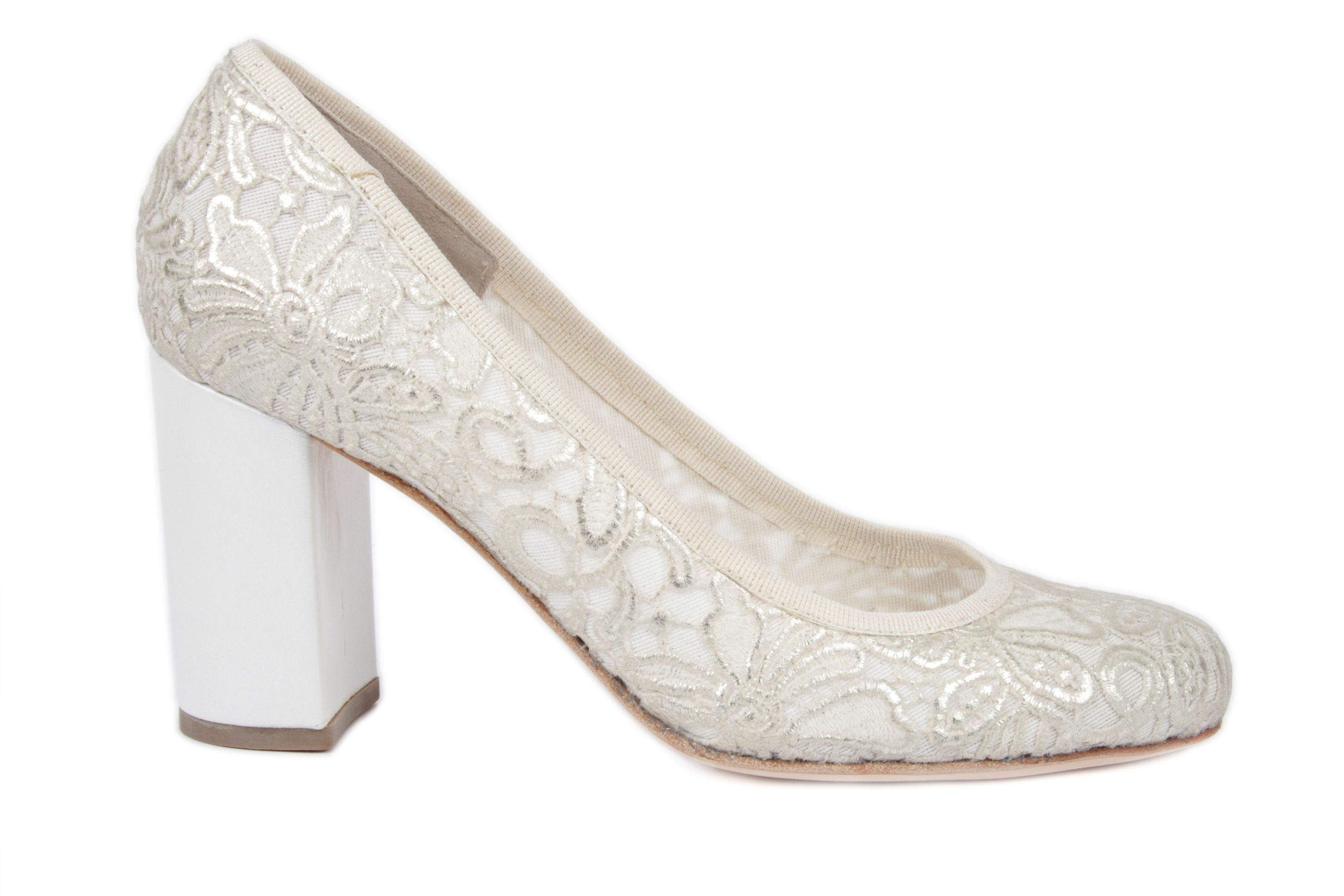 Model Passione with embroidery high heel 7.5cm