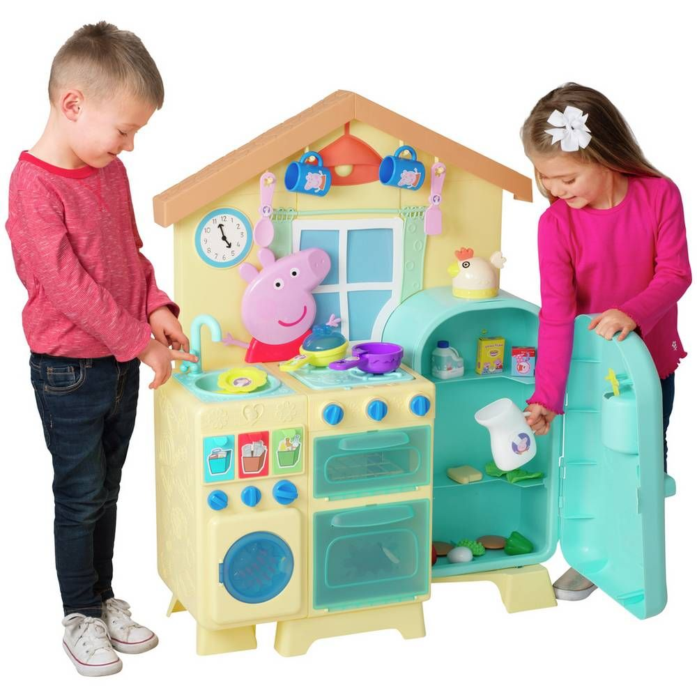 Buy Peppa Pig Kitchen Role Play Toys Argos Peppa Pig House Pig Kitchen Peppa Pig Toys [ 1000 x 1000 Pixel ]