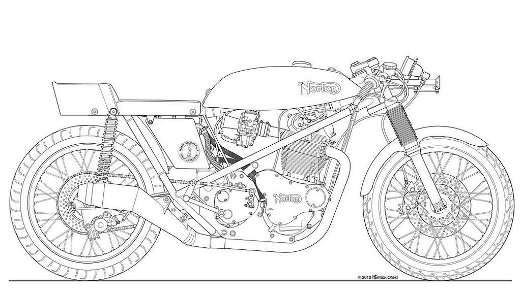 Triumph Bonneville Engine Cutaway Com
