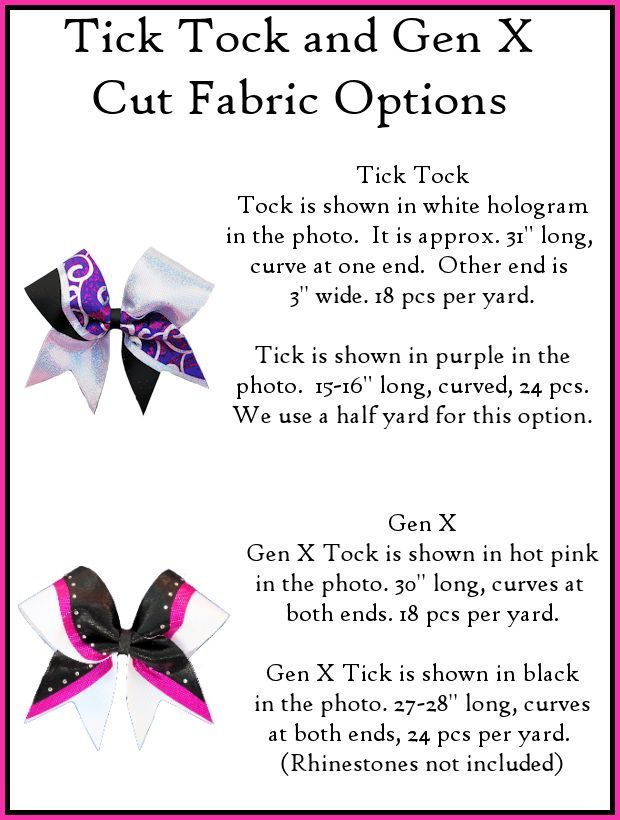 tick tock bow template | Bows | Pinterest | Cheer, Cheer bows and ...