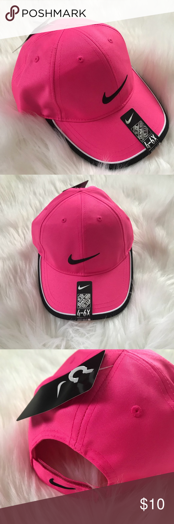 22a3c2586 NWT Kid's 4-6x Pink Nike Cap 🧢 Hat Brand new with tags kid's ...